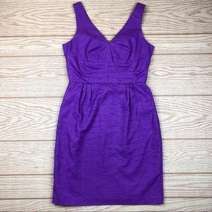TRINA TURK V Neck Sleeveless Dress